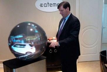 Los televisores del futuro podrían ser esféricos