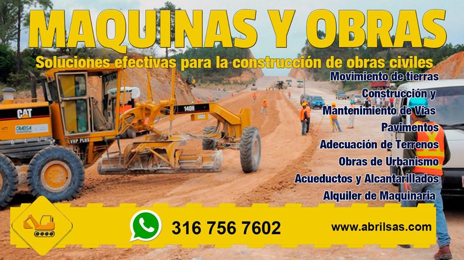 Publicidad Maquinas y Obras 1