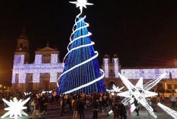 Se prende la Navidad en Bogotá