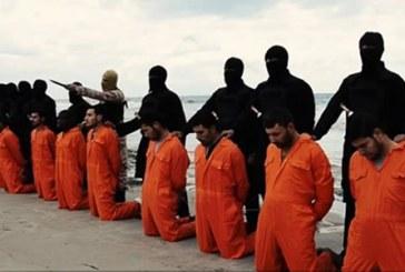 Estado Islámico difunde video donde ejecuta a 20 coptos egipcios