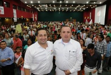 Sellada unión de Faiver Hoyos y Julio César Triana