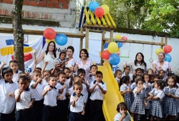 Entregan parque infantil en El Caguán