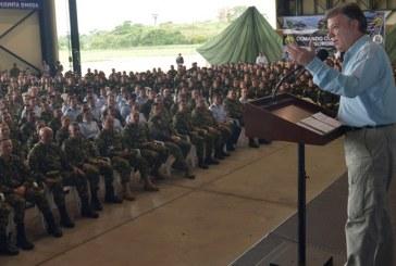 Santos: 'He contribuido a fortalecer a las Fuerzas Militares, cómo las voy a debilitar'