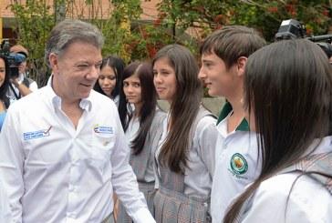 Santos: 'La paz es un gran negocio para todos los colombianos'