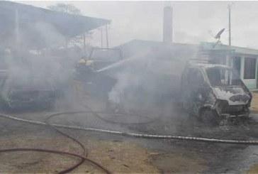Tres heridos por explosión de pipeta de gas en Pitalito
