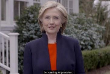 Hillary Clinton, decidida a ser presidenta de EU