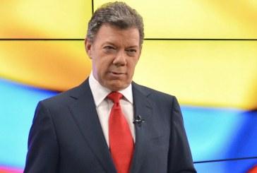 Santos invita a marchar por la paz el próximo 9 de abril