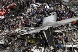 116 muertos en accidente de avión militar en Indonesia