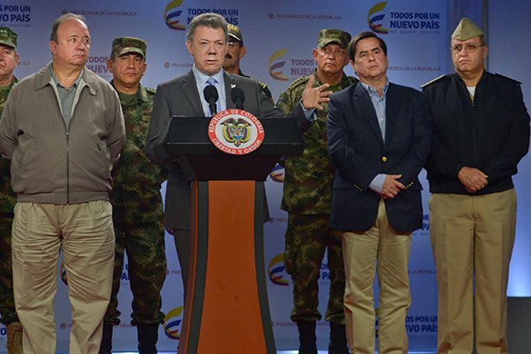 """Santos: """"Responsable de atentados en Bogotá es el ELN"""""""