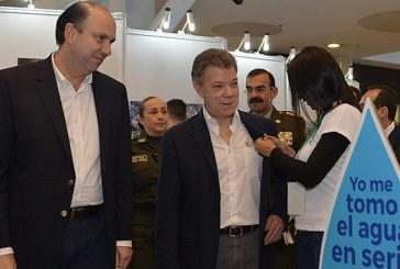 Santos reitera llamado a los colombianos a ahorrar agua
