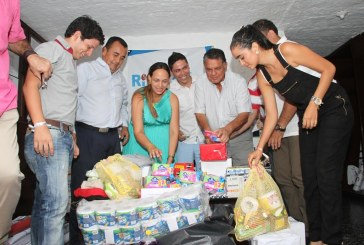 Ciceri en campaña por colombianos desplazados de Venezuela