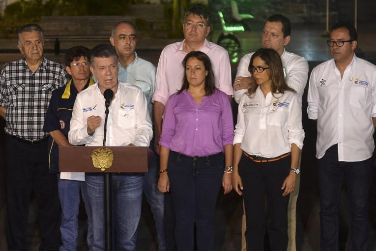 """Santos: """"Bienvenidos a Colombia, que este Gobierno sí los quiere"""""""