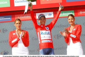 Vuelta a España: Esteban Chaves mantiene la roja