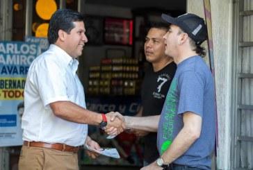 Rodrigo Lara Sánchez sigue recorriendo la ciudad