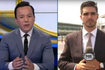 Atropellan a un reportero de Fox Sports en directo