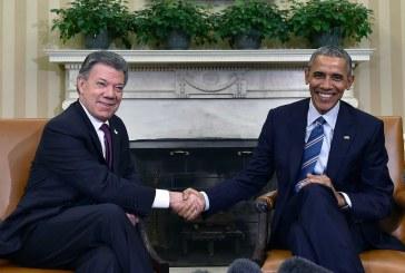 Obama: 'Admiro su valentía de buscar la paz Presidente Santos'