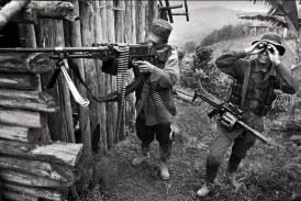 El conflicto colombiano está casi detenido