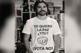 La molestia de Juanes por fotomontaje en contra de la paz