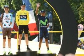 Tour de Francia: Nairo Quintana, a lo grande en el podio
