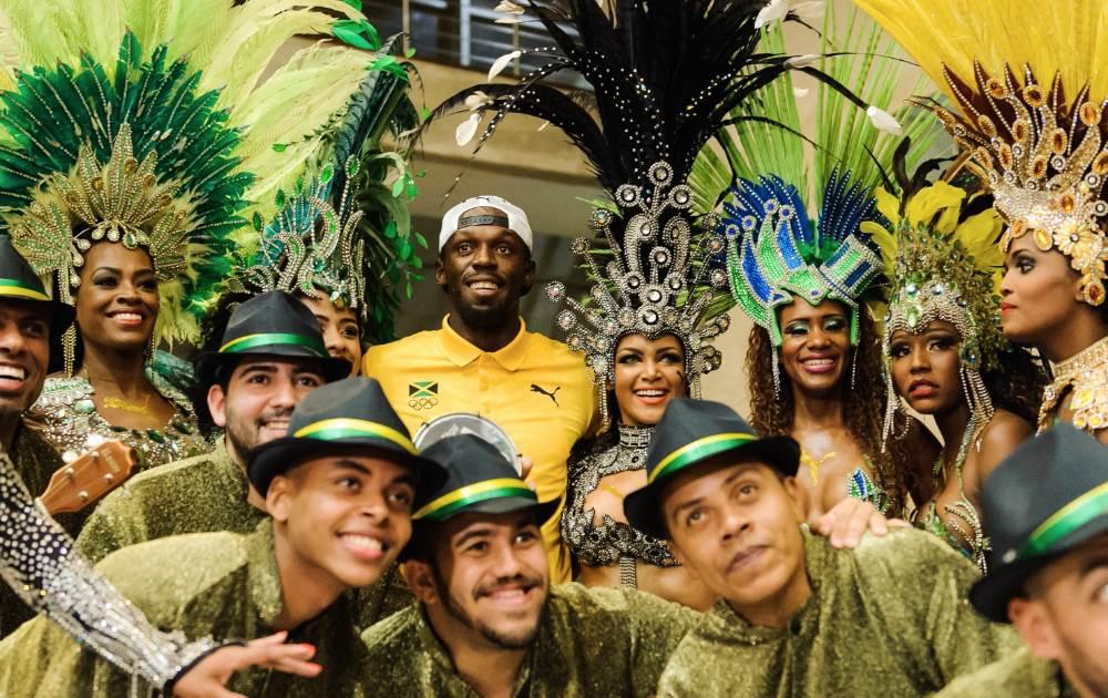 Inicia el espectáculo de Usain Bolt en el atletismo