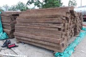 Decomisados 510 bloques de cedro rosado