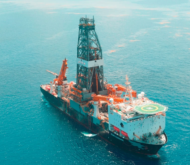Ecopetrol reporta hallazgo de petróleo en el Golfo de México