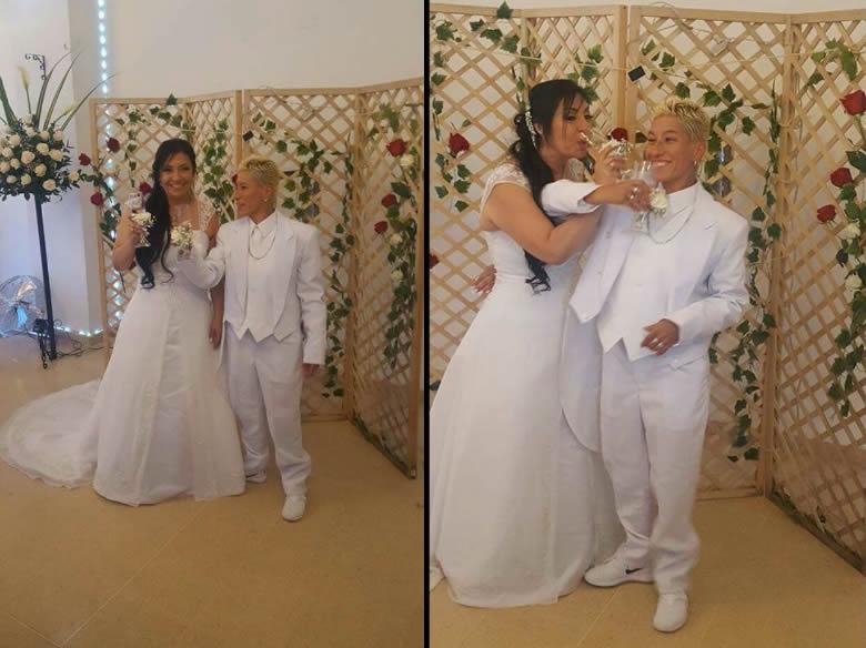 lady tabares, la vendedora de rosas y su boda | tsmnoticias