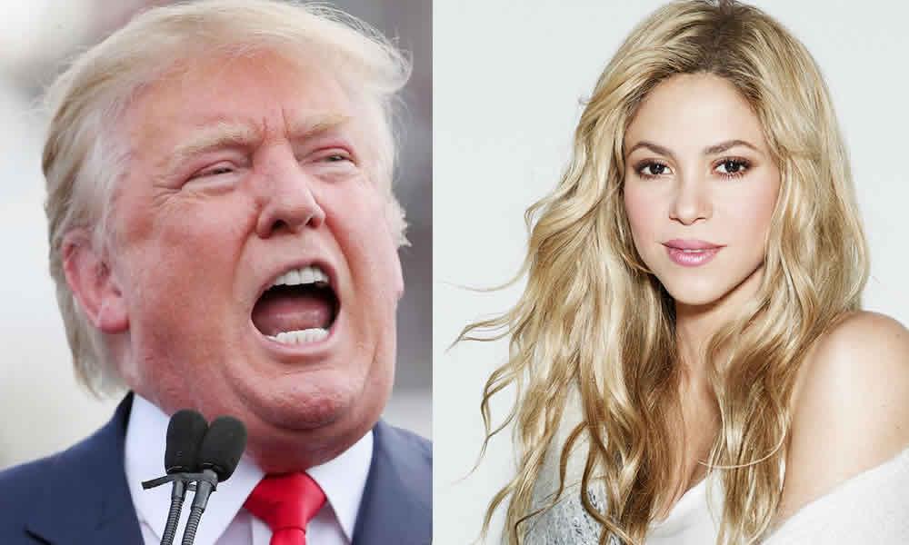 Lo que Shakira le dijo a Donald Trump