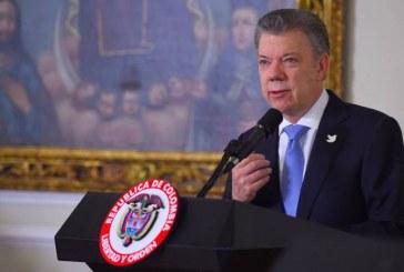 Nadie va a poder hacer trizas el proceso de paz: Santos