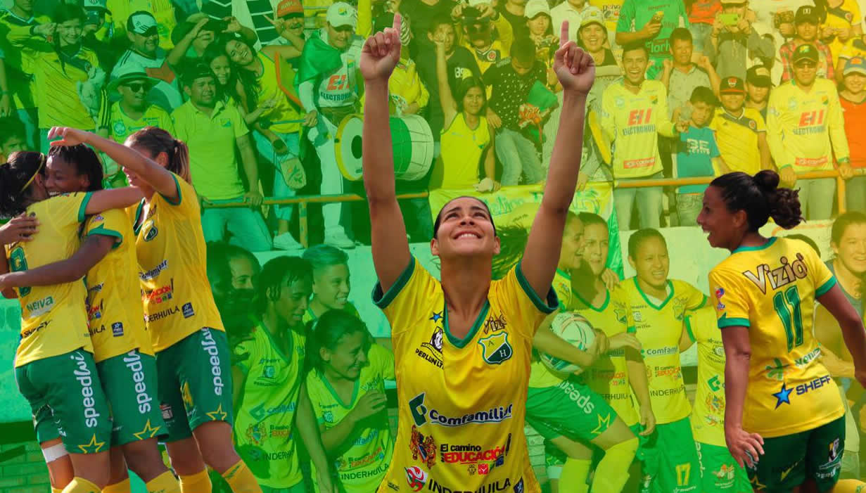 Cortuluá perdió ante Huila y quedó eliminado de la liga femenina