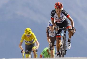 Darwin Atapuma segundo en la etapa 18 del Tour de Francia