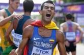 Colombiano Éider Arévalo, campeón mundial de marcha