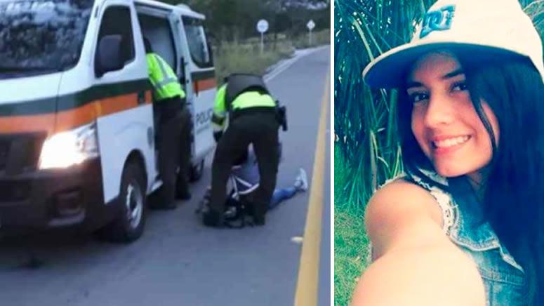 Investigan muerte de modelo baleada tras persecución policial en Tolima