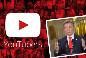 Petición del Gobierno a los 'youtubers' en Colombia