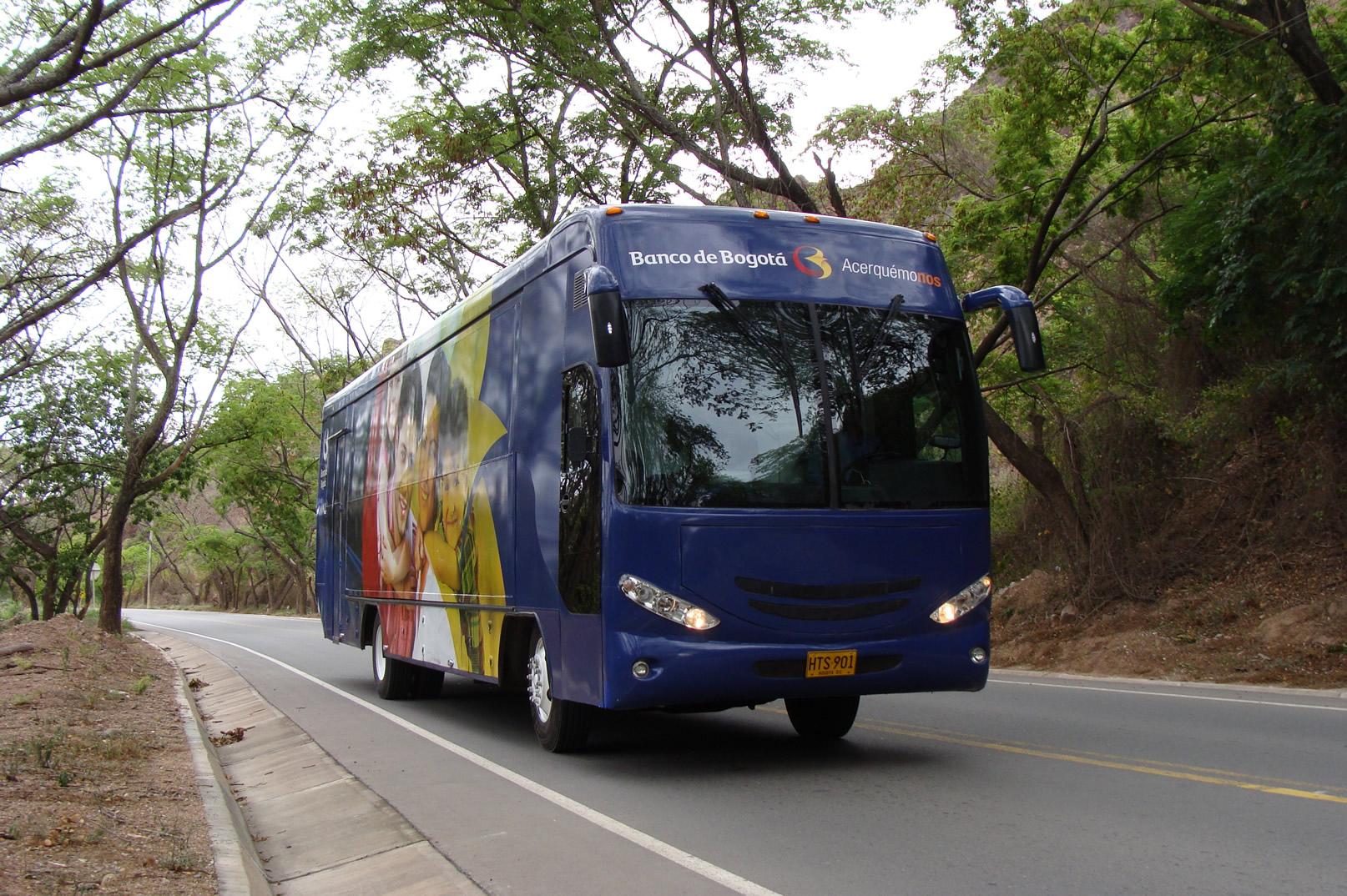 Un viaje por el progreso del pa s del banco de bogot for Banco de bogota