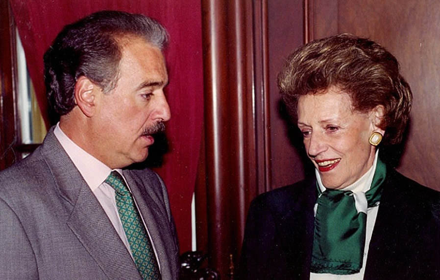 Fallece María Cristina Arango, madre de Andrés Pastrana
