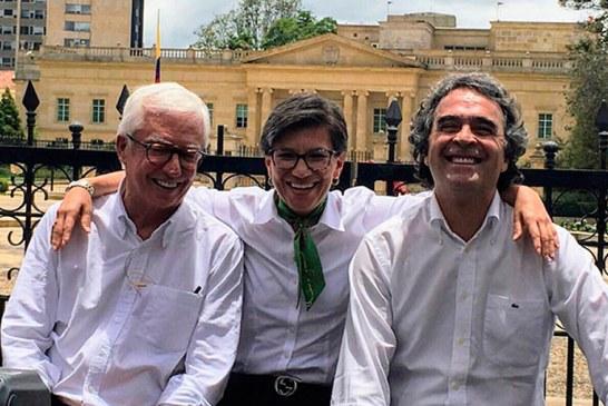 Jorge Robledo, Claudia López y Sergio Fajardo, presentaron Coalición Colombia
