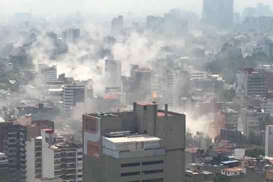Terremoto de 7,1 grados sacude México y deja 40 muertos