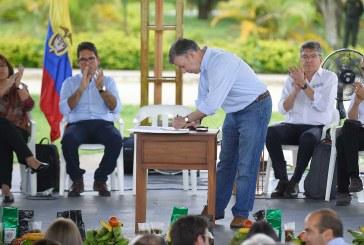 Los acuerdos son para cumplirlos: Santos
