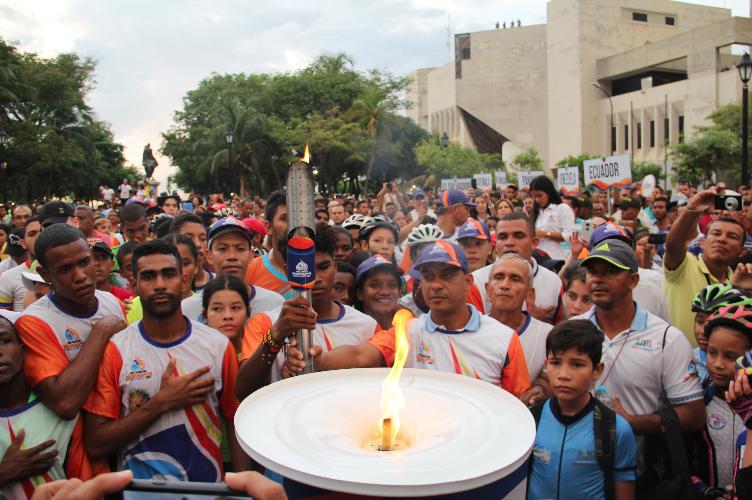 El Fuego Bolivariano arde en Santa Marta